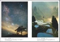 左:阿智村の星空(長野県) 右:山古志の棚田・棚池(新潟県)